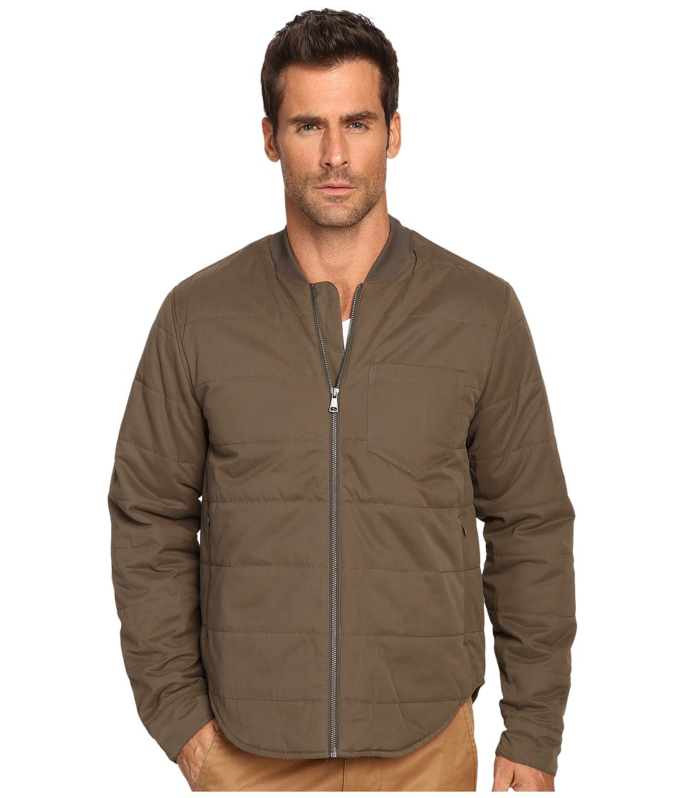 Michael Stars - Quilted Nylon Jacket (Covert Green) Men's Coat