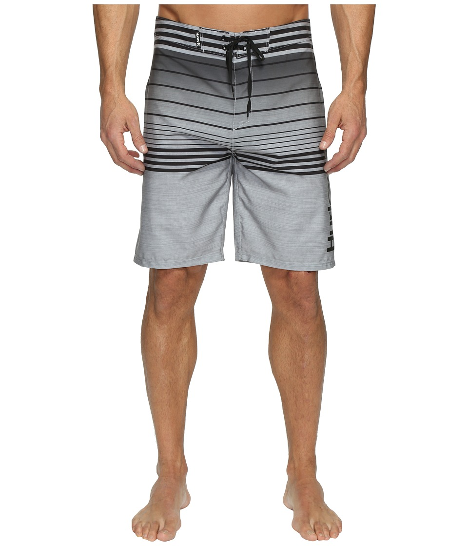 Hurley - Phantom Peters Boardshorts (Black) Men's Swimwear