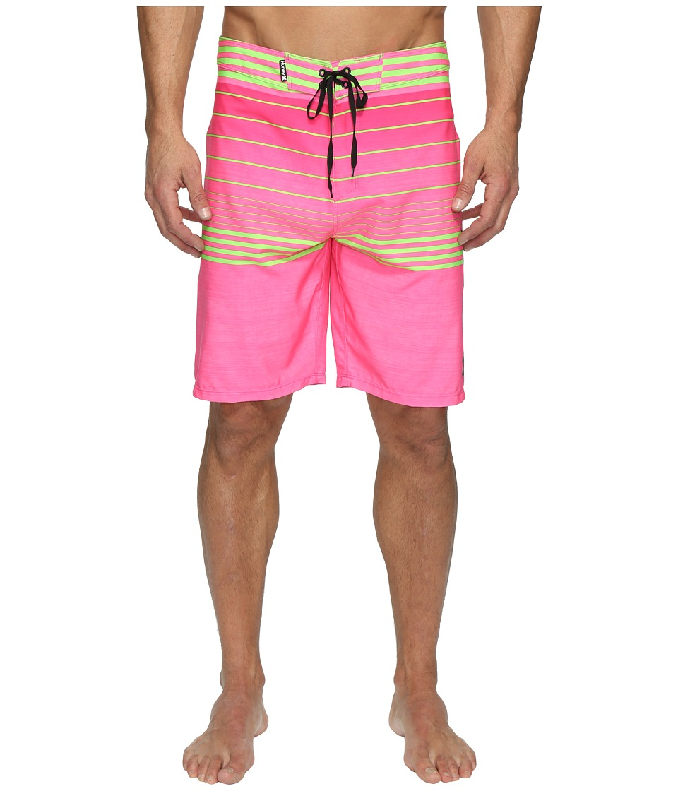 Hurley - Phantom Peters Boardshorts (Neon Pink) Men's Swimwear