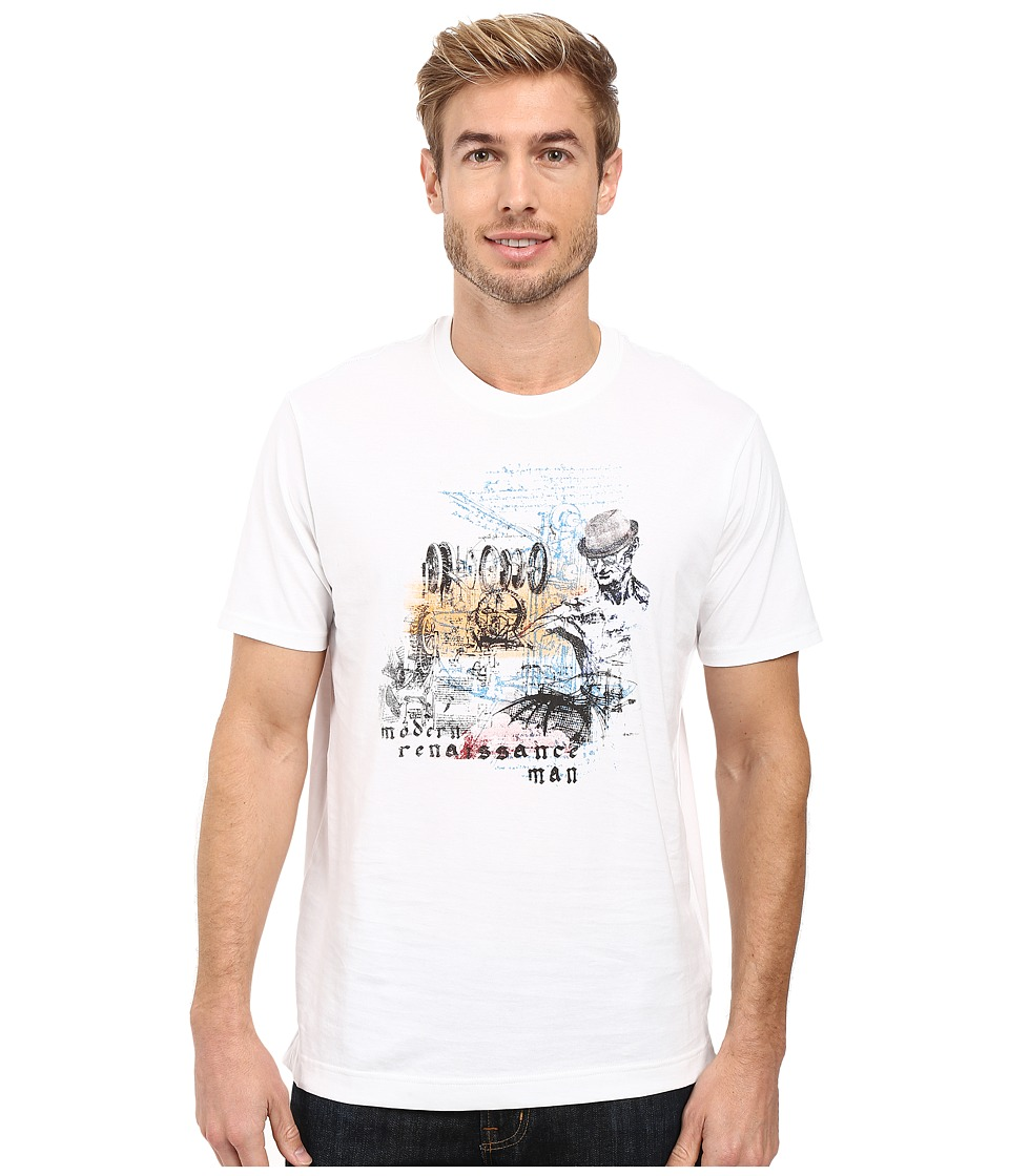 Robert Graham - Renaissance Man T-Shirt (White) Men's T Shirt