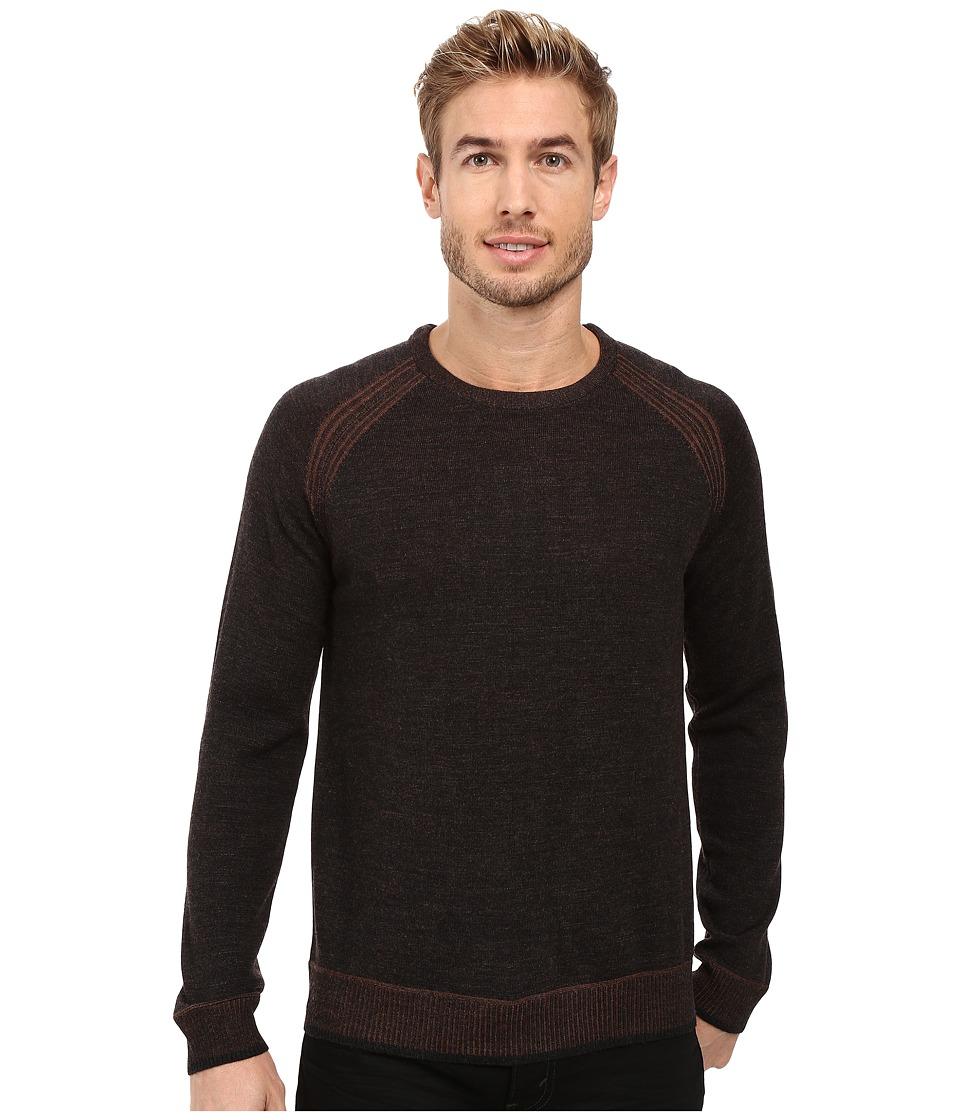 Robert Graham - Filberto Sweater (Heather Charcoal) Men's Sweater