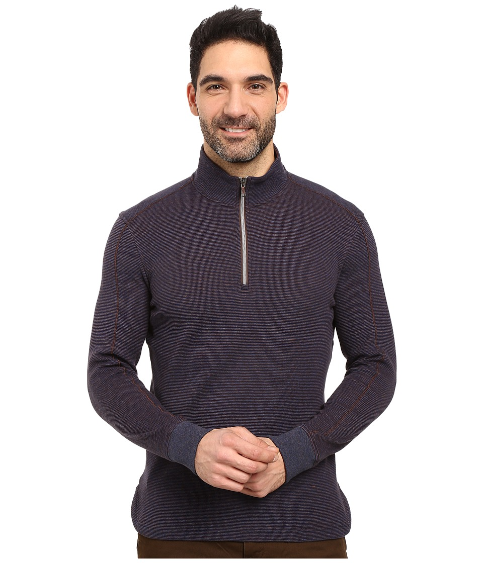 Robert Graham - Ricci 1/2 Zip Sweater (Navy) Men's Sweater