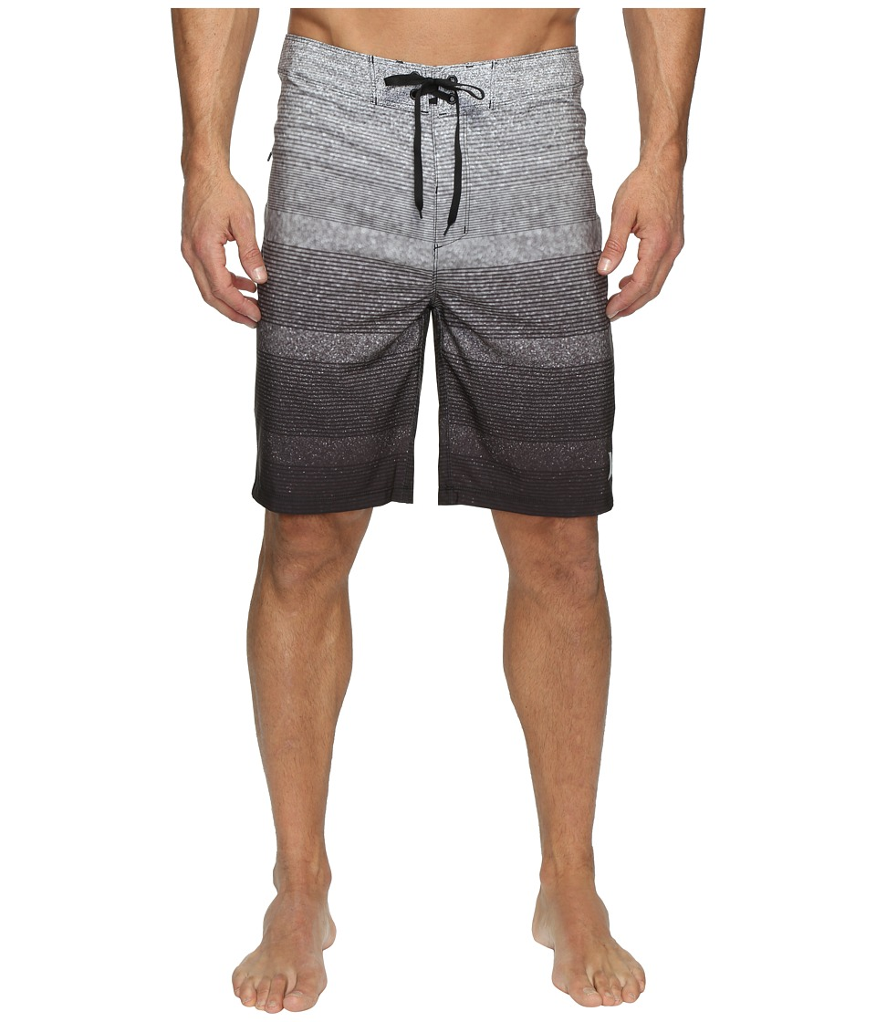 Hurley - Phantom Zion Boardshorts (Black) Men's Swimwear