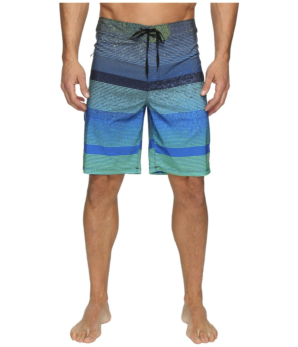 Hurley Phantom Zion Boardshorts (Neon Green) Men