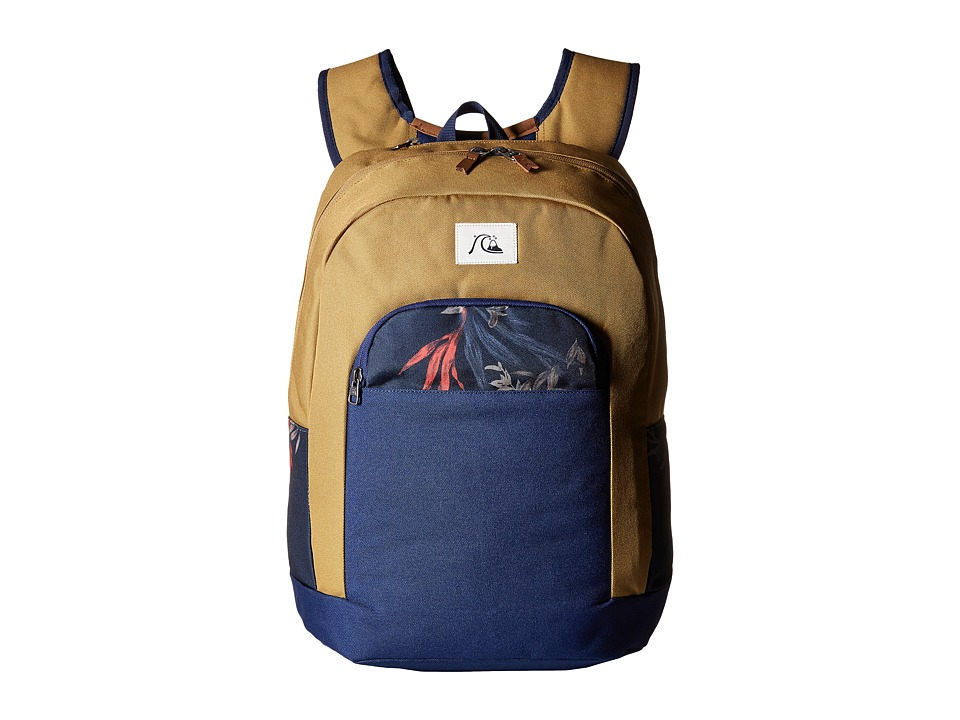 Quiksilver - Dart Modern Original Backpack (Medieval Blue) Backpack Bags