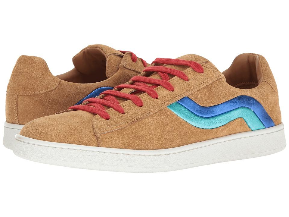 Marc Jacobs - Suede Wave Skater Sneaker (Khaki) Men's Lace up casual Shoes