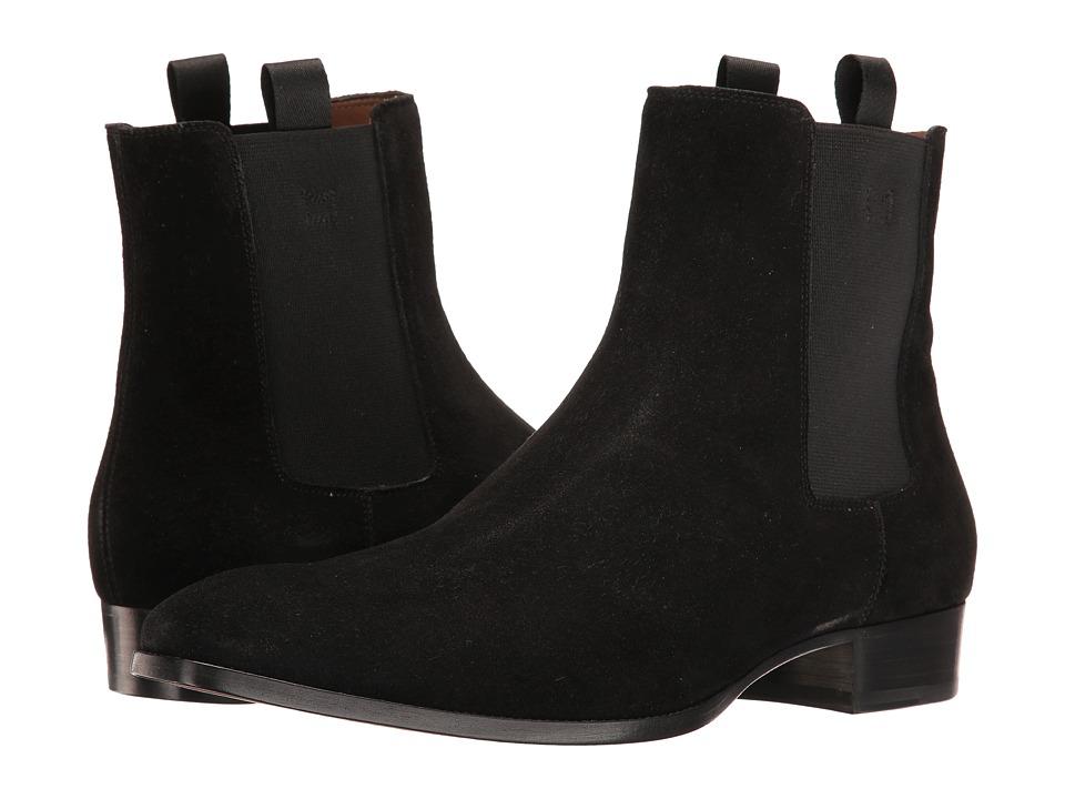 Marc Jacobs - Suede Boot (Black) Men's Boots