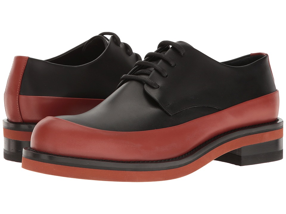 MARNI - POC Trim Oxford (Rust/Black) Men's Shoes