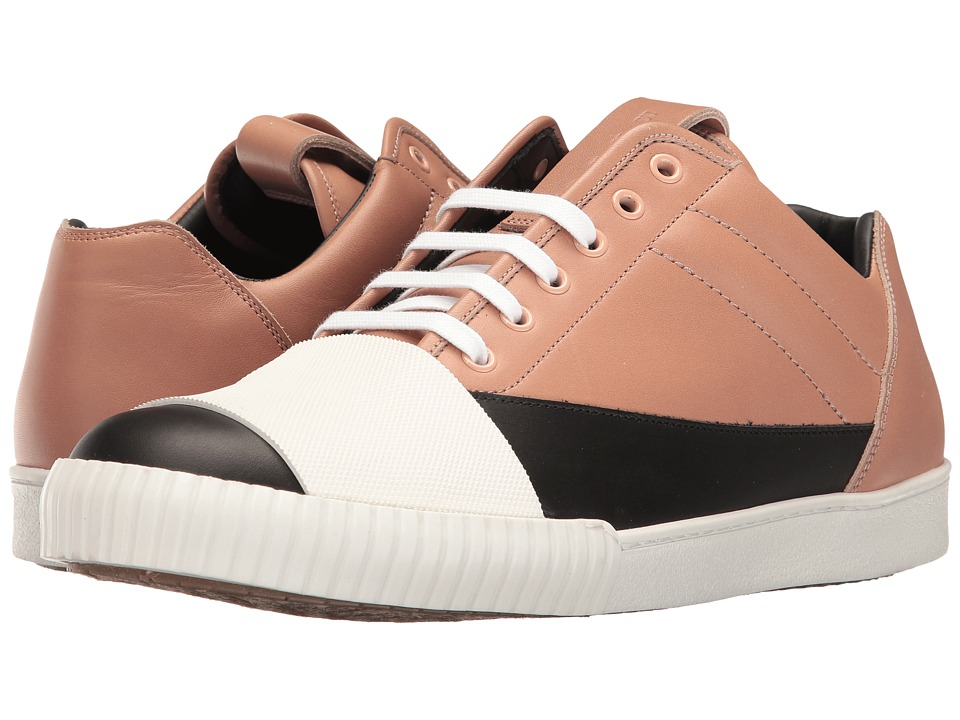 MARNI - Banded Low Top Sneaker (Black/Pink) Men's Shoes