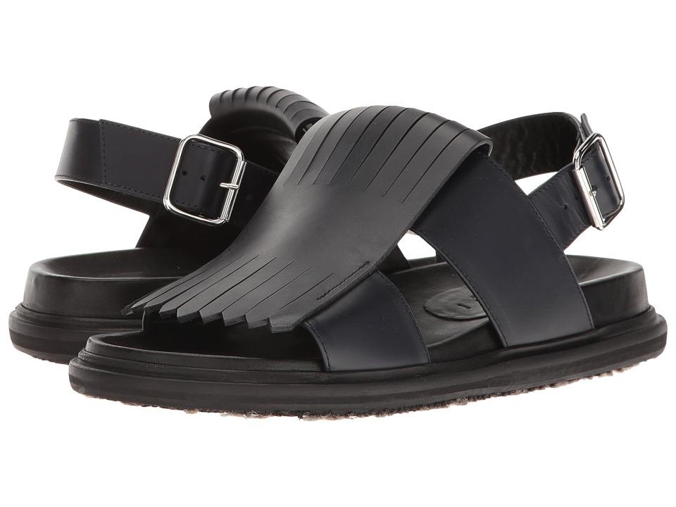 MARNI - Kiltie Sandal (Blue) Men's Sandals