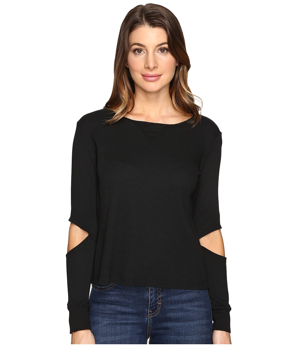 LNA - Juniper Thermal (Black) Women's Clothing