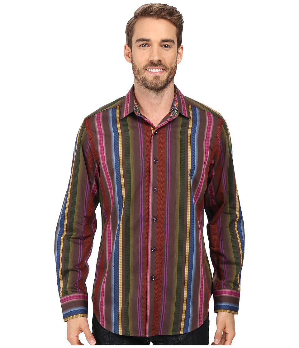 Robert Graham - Lateran Long Sleeve Woven Shirt (Multi) Men's Clothing