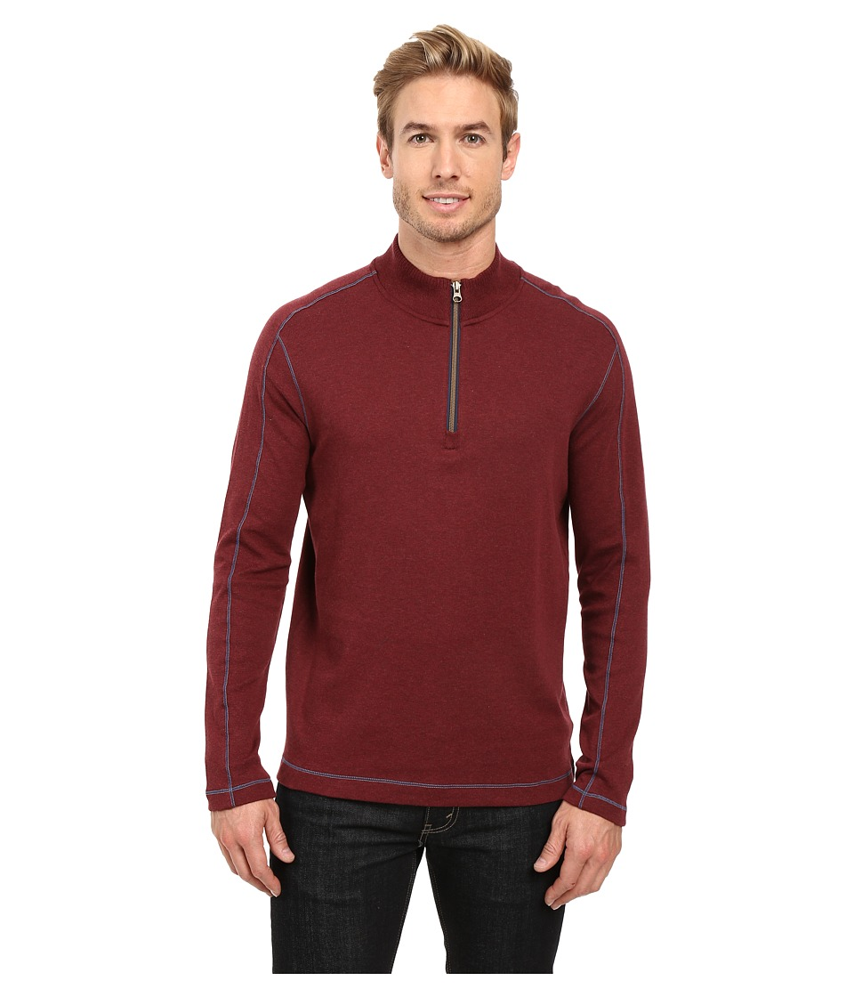 Robert Graham - Elia Knit (Heather Wine) Men's Clothing