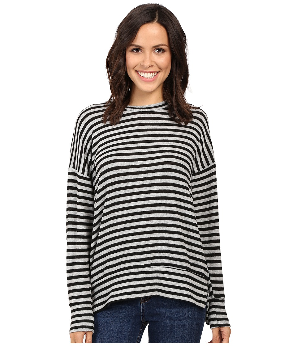 LNA - Max Sweater (Grey/Black Stripe) Women's Sweater