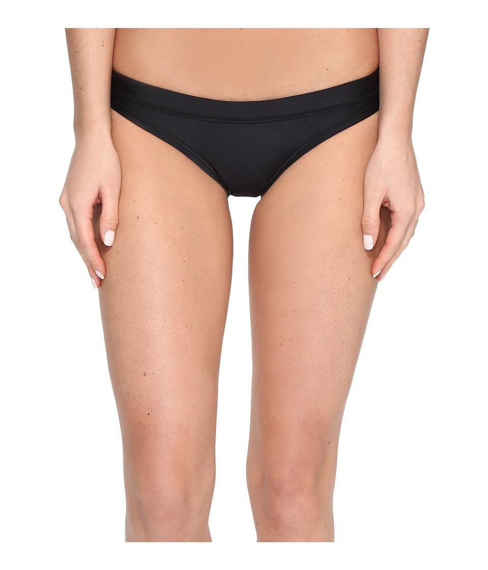 Speedo - Solid Bottom (Black) Women's Swimwear