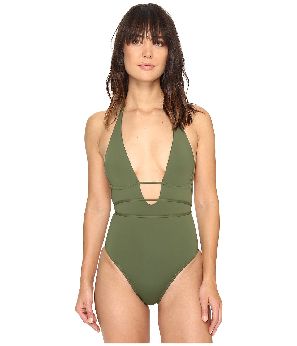 L*Space - Pamela Classic One-Piece (Jungle) Women's Swimsuits One Piece