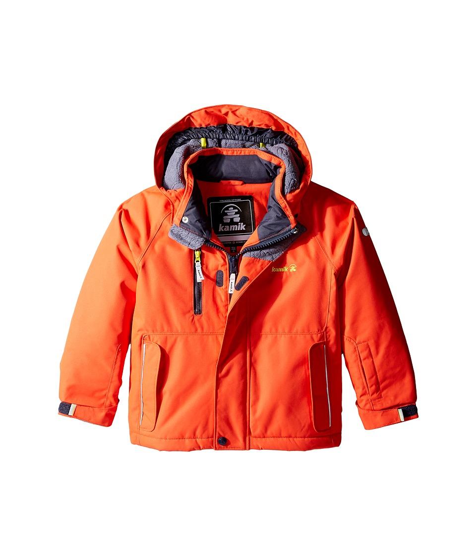 Kamik Kids - Hunter Solid Jacket (Toddler/Little Kids) (Grenadine) Boy's Coat