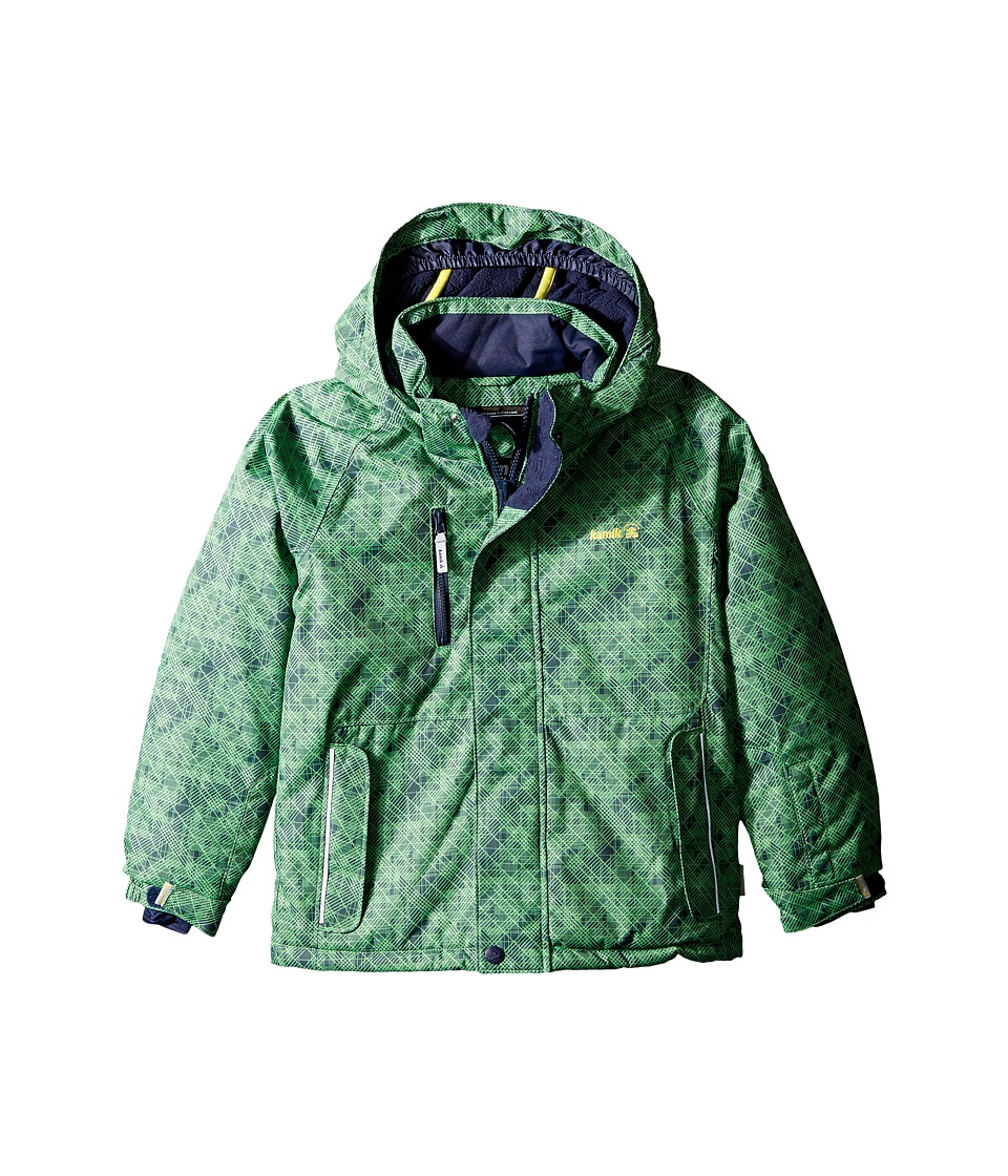 Kamik Kids - Hunter Crash Stix (Toddler/Little Kids) (Classic Green) Boy's Coat