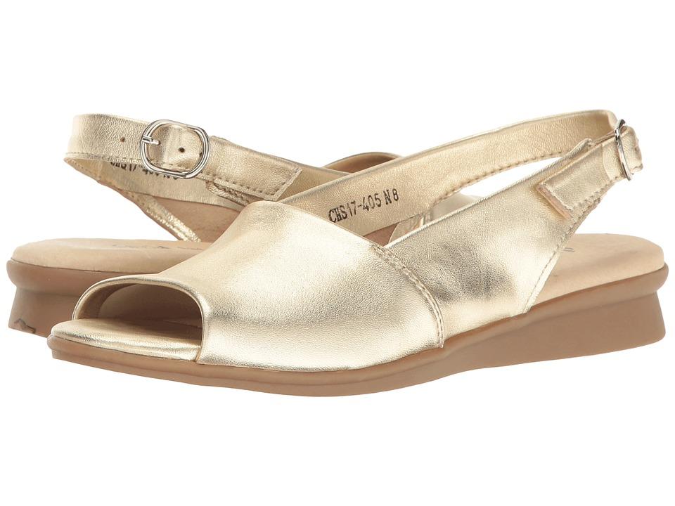 David Tate - Norma (Platinum Lamb) Women's Hook and Loop Shoes