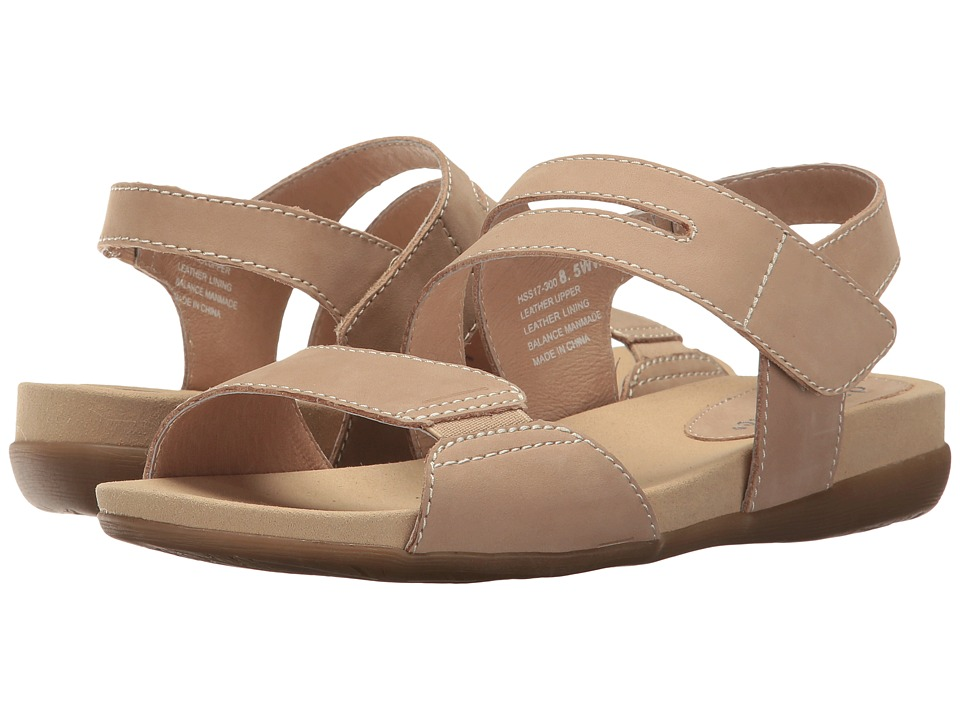 David Tate - Squish (Camel Nubuck) Women's Sandals