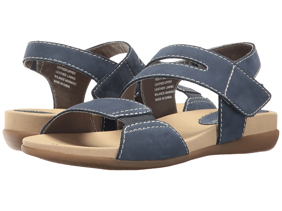 David Tate - Squish (Navy Nubuck) Women's Sandals