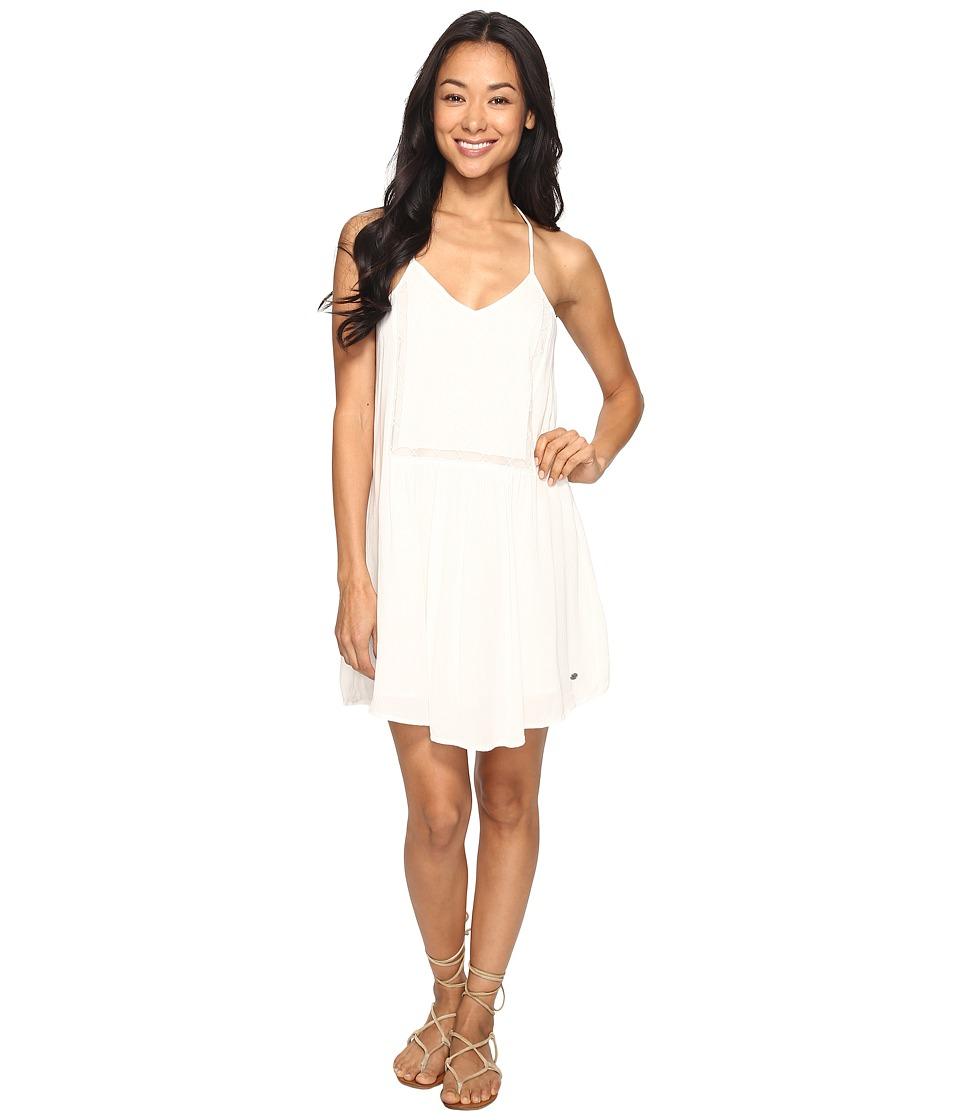 Roxy - Prism Pattern Dress (Marshmallow) Women's Dress