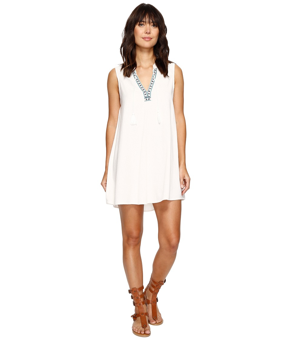 Roxy - Magic Hour Dress (Marshmallow) Women's Dress
