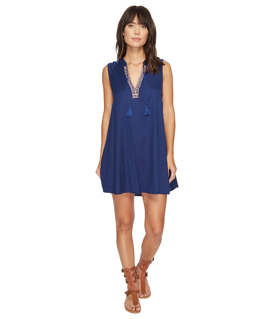 Roxy - Magic Hour Dress (Blue Depths) Women's Dress
