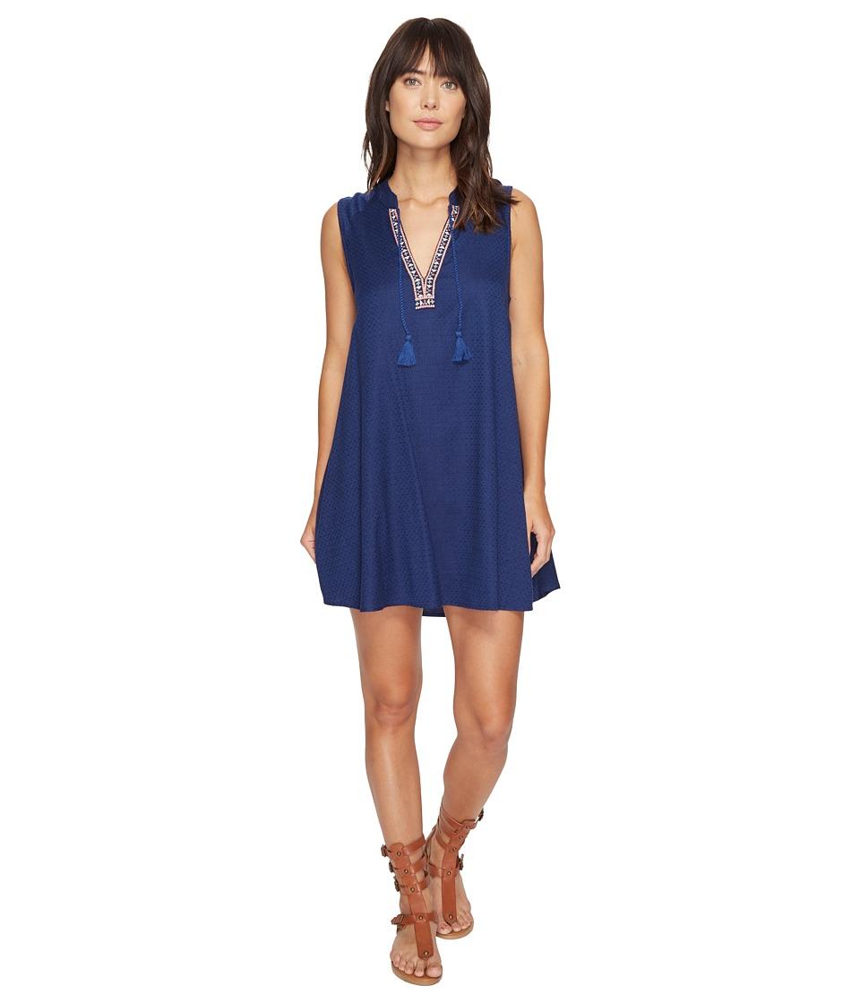 Roxy - Magic Hour Dress (Blue Depths) Women's Dress