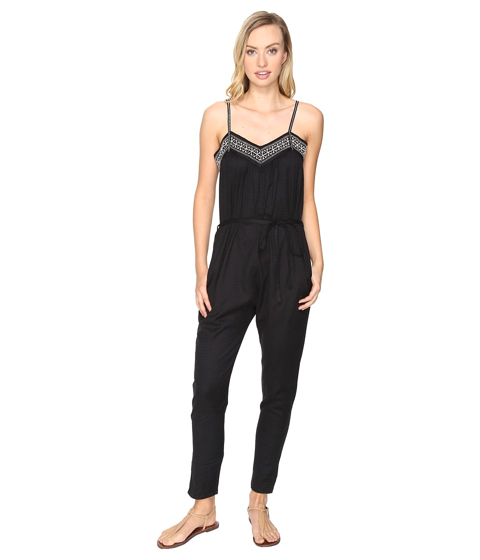 Roxy - Celestial Sun Jumpsuit (Anthracite) Women's Jumpsuit & Rompers One Piece
