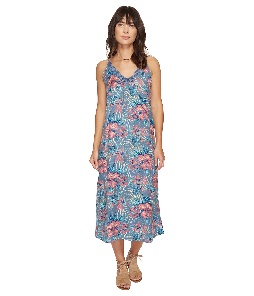 Roxy - Optic Diamond Maxi Dress (Captains Blue Beyond Love) Women's Dress