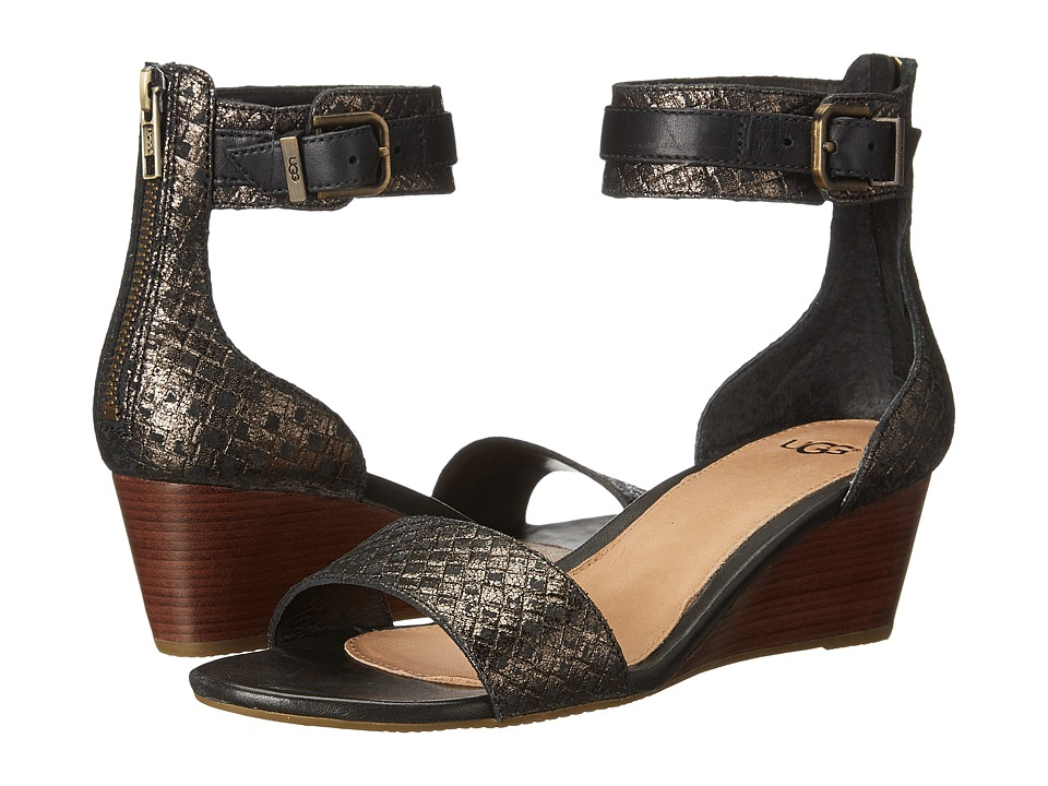 UGG - Char (Black) Women's Dress Sandals