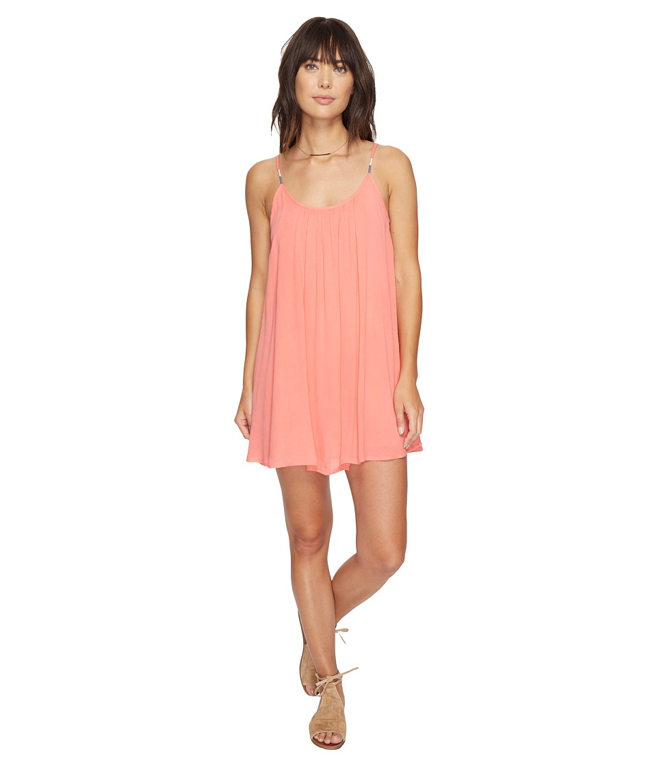Roxy - Perpetual Dress (Georgia Peach) Women's Dress