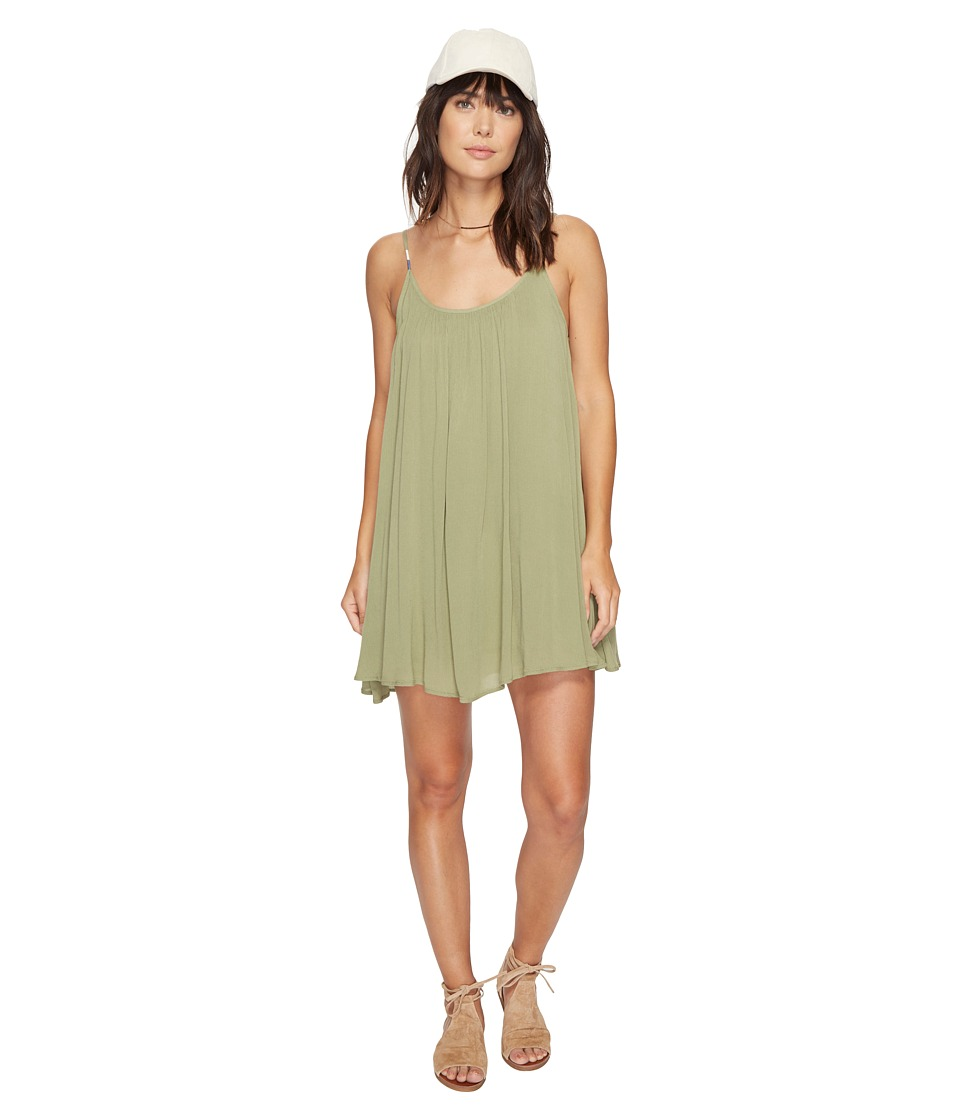 Roxy - Perpetual Dress (Oil Green) Women