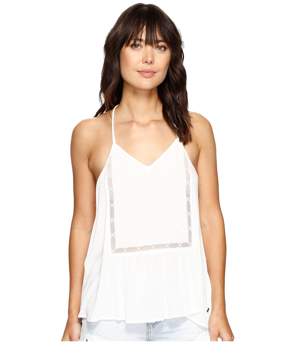 Roxy - Prism Pattern Top (Marshmallow) Women's Sleeveless