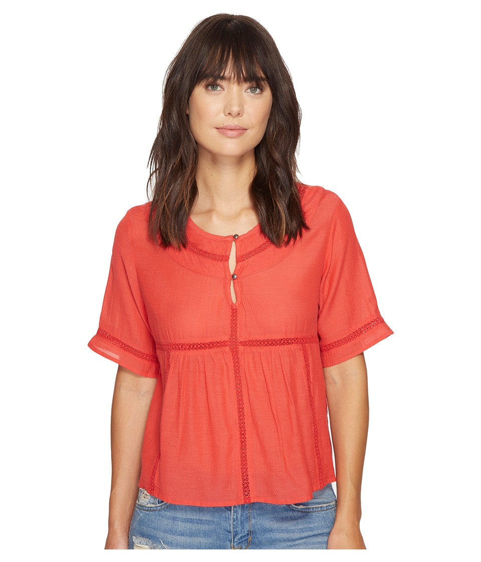 Roxy - Zapotec Top (Hibiscus) Women's Clothing