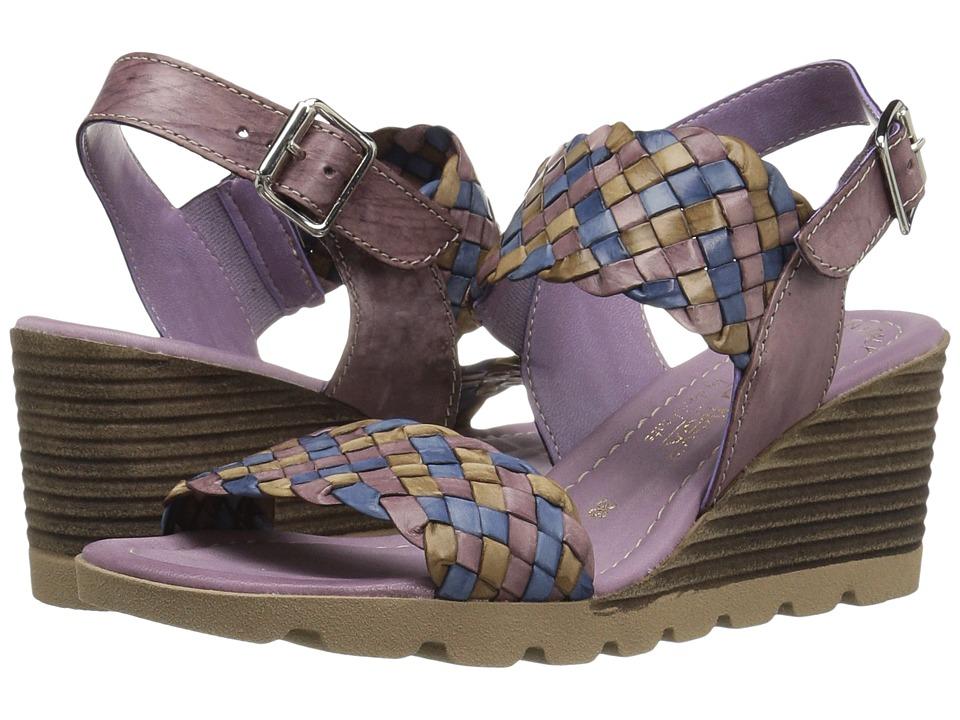 David Tate - Cool (Sea Breeze Multi) Women's Wedge Shoes