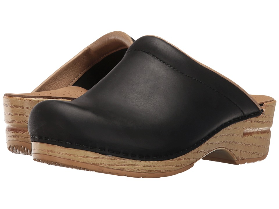 Dansko - Sonja (Black Natural) Women's Clog Shoes
