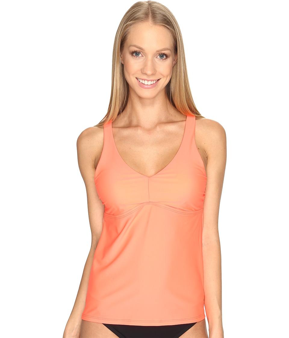 Speedo - Strappy Tankini Top (Granatina) Women's Swimwear