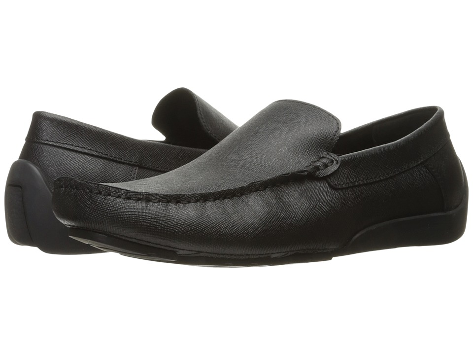 Kenneth Cole New York - Sunday Fun-Day (Black 1) Men's Slip on Shoes