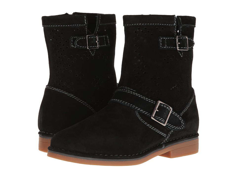 Hush Puppies Aydin Catelyn Perf (Black Suede) Women