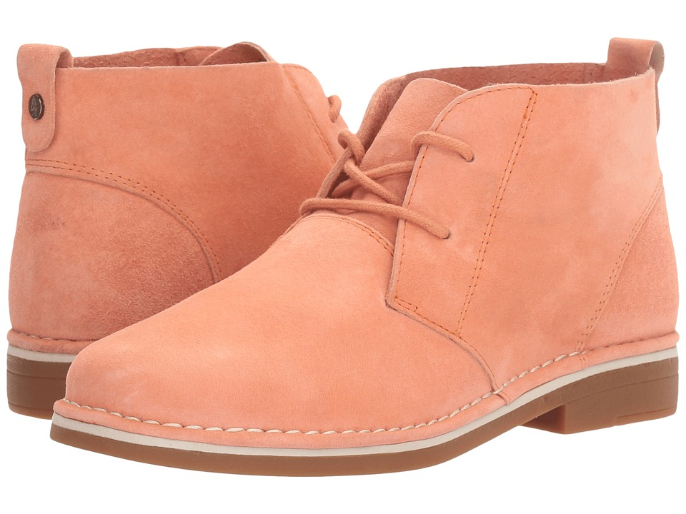 Hush Puppies Cyra Catelyn (Peach Suede) Women