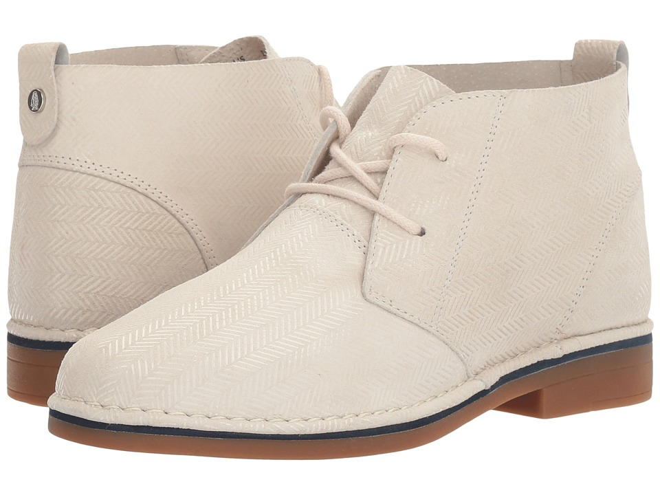 Hush Puppies Cyra Catelyn (Ivory Herringbone Suede) Women