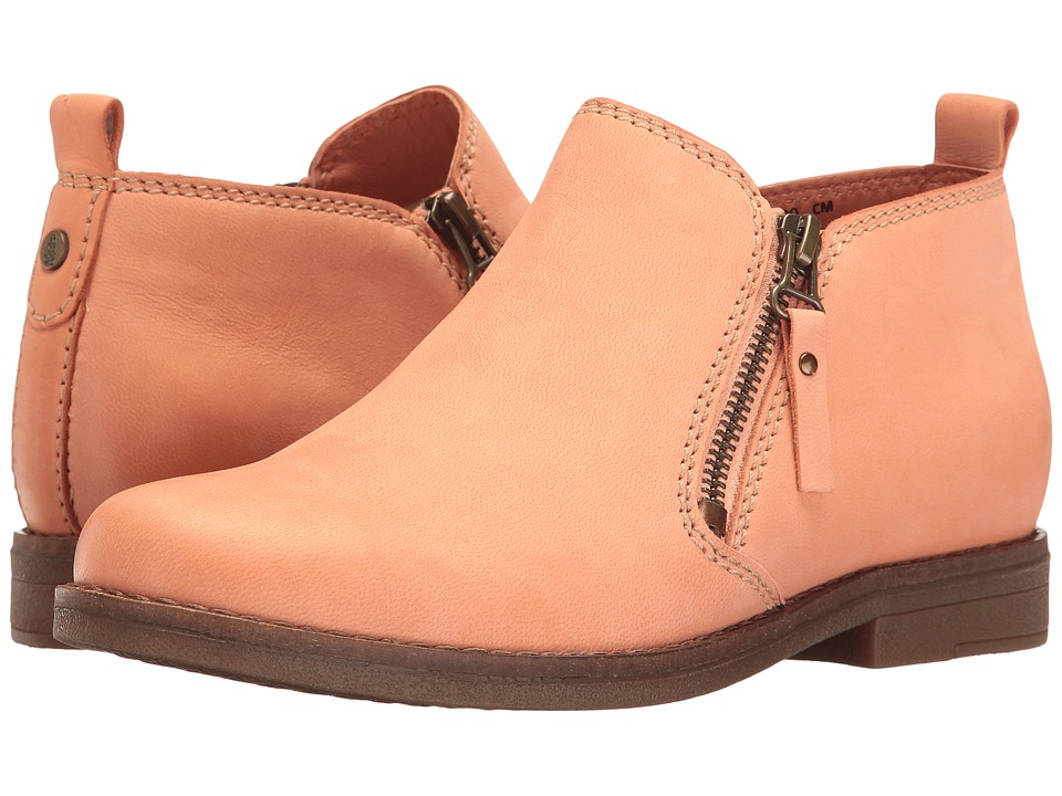 Hush Puppies - Mazin Cayto (Peach Nubuck) Women's Zip Boots