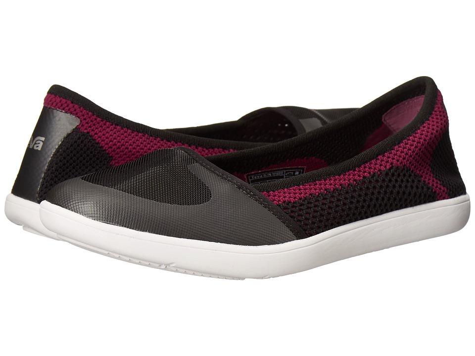Teva - Hydro-Life Ballerina (Black) Women's Shoes