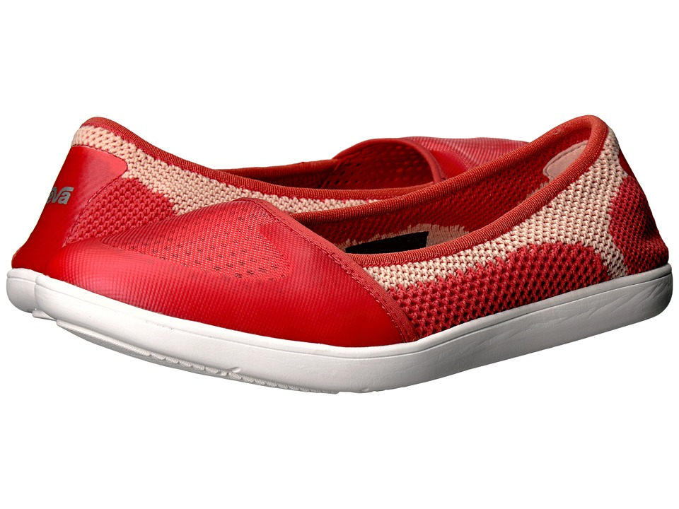 Teva - Hydro-Life Ballerina (Coral) Women's Shoes