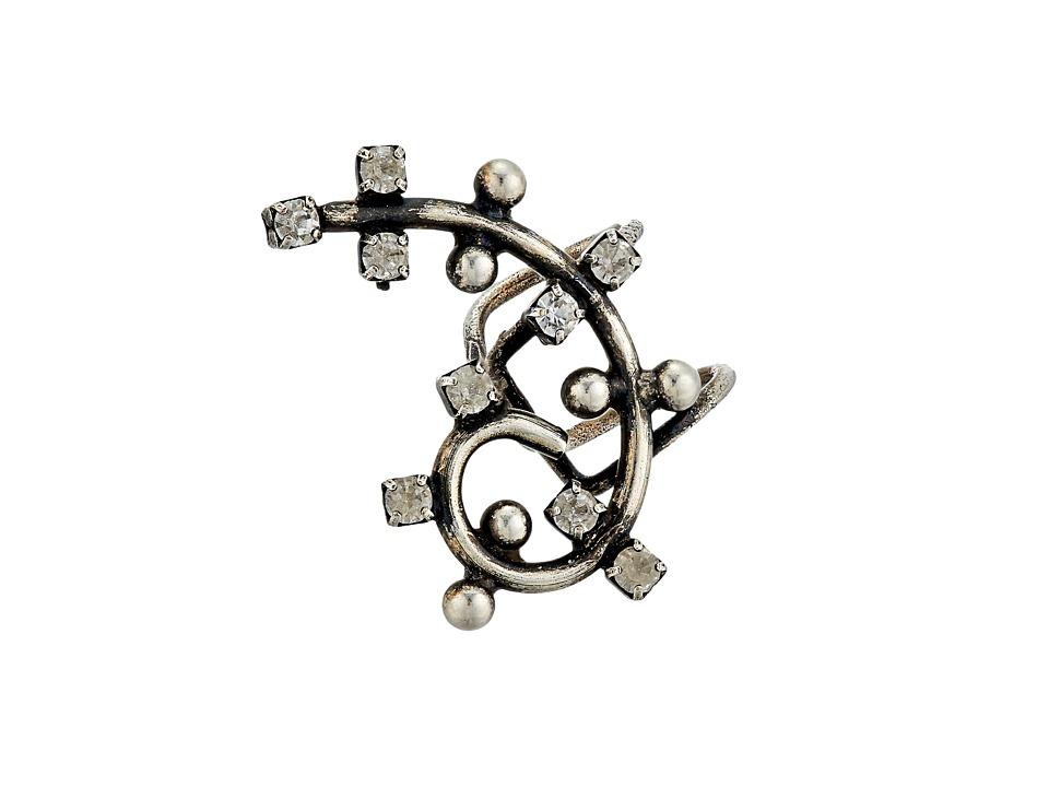 DANNIJO - DUNE Earcuff (Ox Silver) Earring