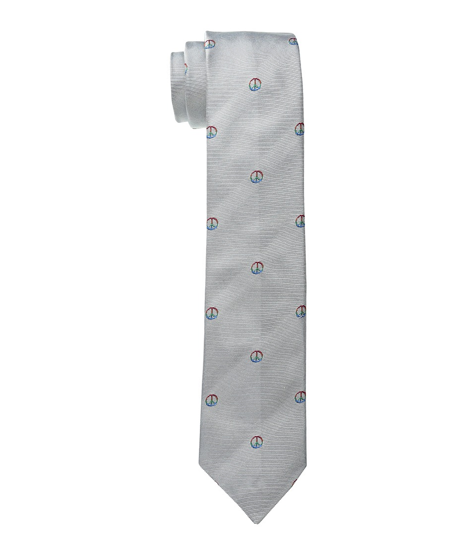 Paul Smith - Peace Sign Tie 6 cm (Multi) Ties