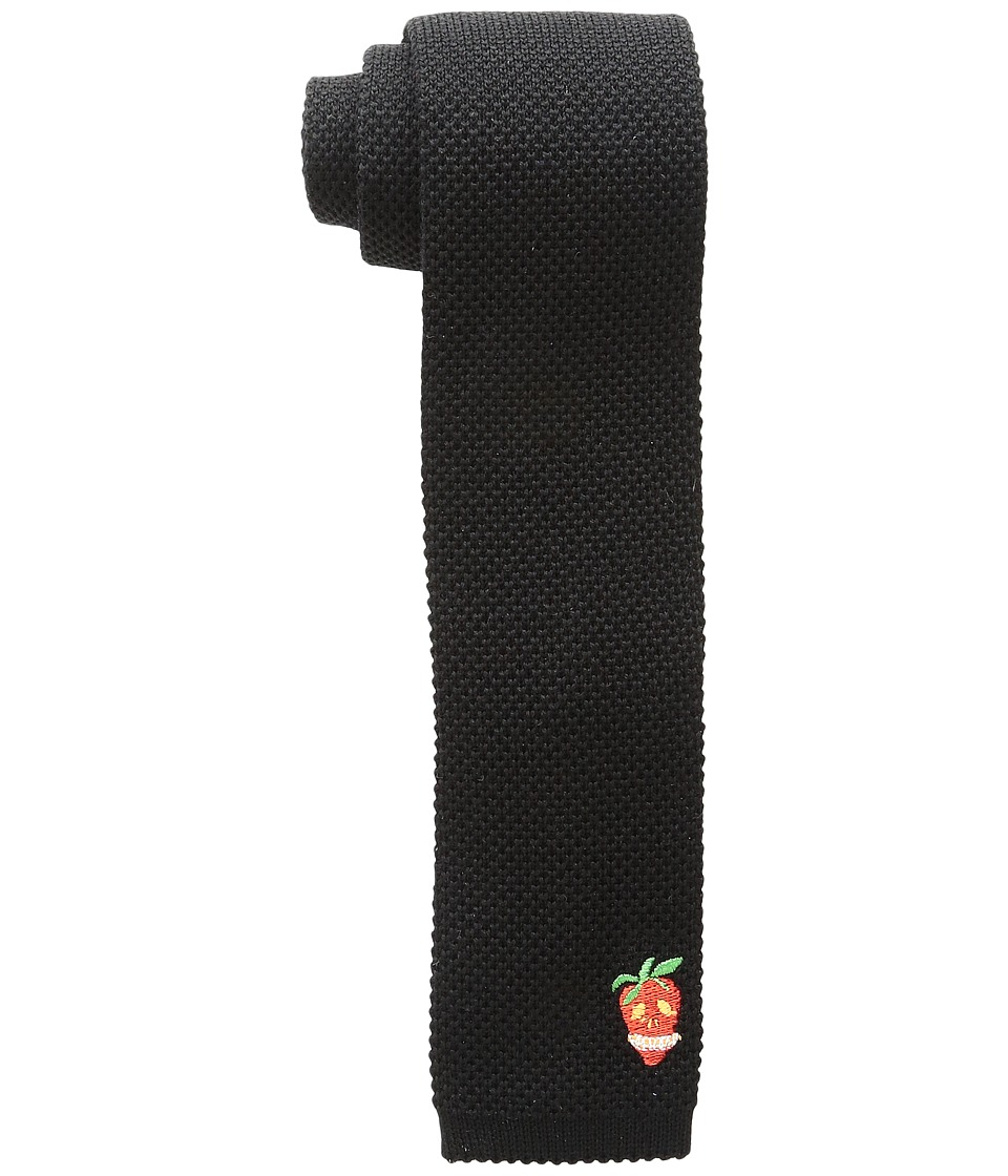 Paul Smith - Skull at Bottom Knit Tie (Multi) Ties