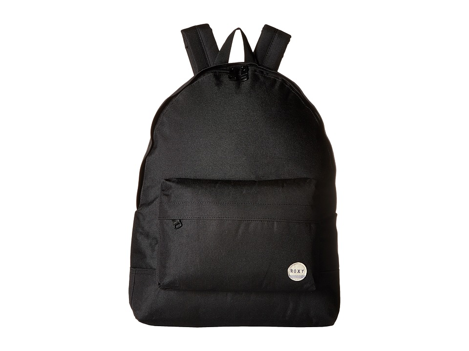 Roxy - Sugar Baby Plain Backpack (True Black) Backpack Bags